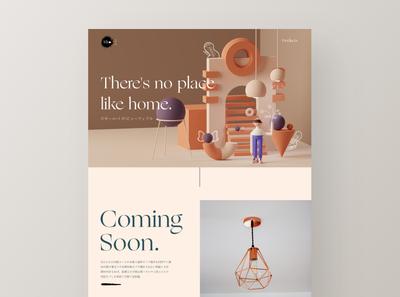 3D Illustration Landing Page Exploration - #VisualExploration pastel colors uidesign webdesign 3d art clean website app design minimalism web ui 3d illustration minimal landing page