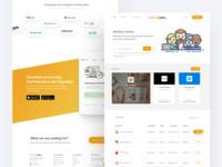 Startupjobs.asia re-design concept