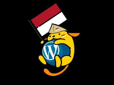 Wapuu Indonesia cartoon logo mascot illustration wordpress wapuu