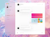 Pastel chat app