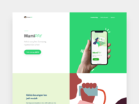 Mamipay   landing page