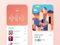 Design Curator App Concept - #VisualExporation