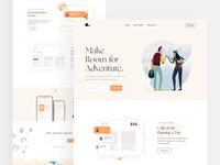 Travelmate Finder - Landing Page