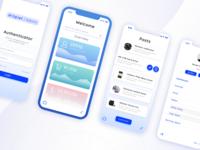 Conceptual Web App UI for Admin Panel for a Marketplace website