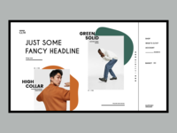 Modern Fashion E-Commerce Website Design