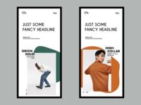 Modern Fashion E-Commerce Website Responsive Design
