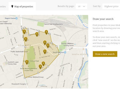 Redesign flat property high-end exclusive search estate agent