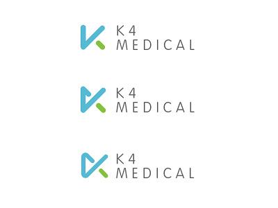 K4 Logo k4 logo abstract shape vag rounded