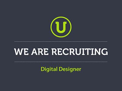 We are Recruiting - Digital Designer digital designer web designer jobs we are recruiting newcastle upon tyne newcastle vacancy careers