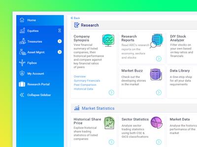 Customer Portal Dashboard