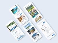 Hotels / Flights Booking Website - Mobile view mobile ui asian best destination 2020 green responsive mobile view landing page web design ux ui travel sri lanka hotel search hotel booking happy new year 2020 flight search flight booking colorful clean 2020 trend