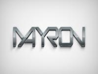 MAYRON | DJ brand Identity