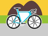 Summer Bike Sticker