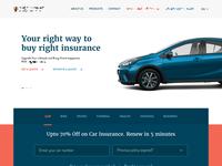 Insurance Website UI
