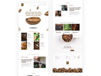 Premium Coffee Website