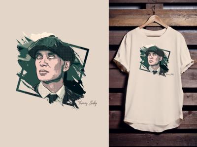Thomas Shelby T Shirt Design