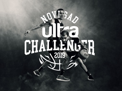 Novi Sad Ultra Challenger 2019 sportevent poster graphic logo design