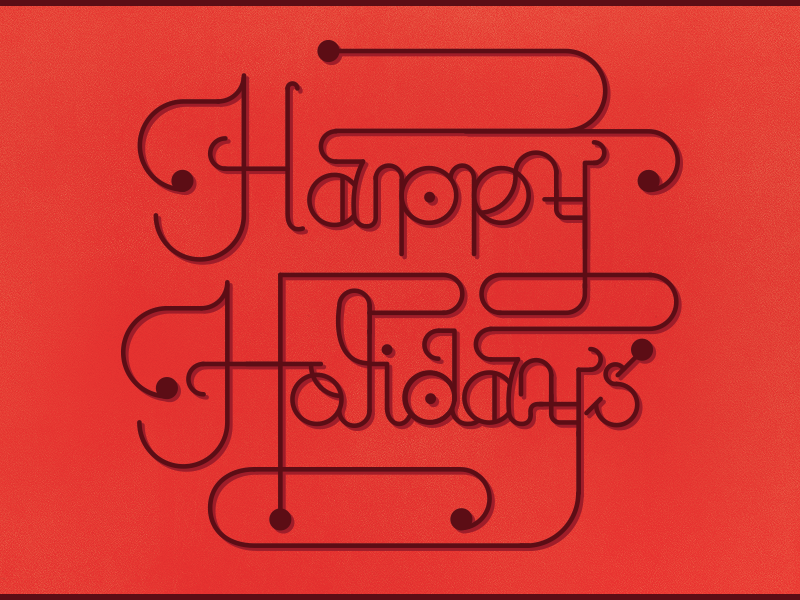 Happy Holidays 2 holidays red christmas 2013 happy appboy