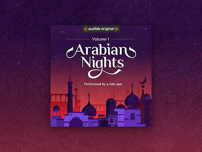 Arabian Nights Cover nights arabian cover audiobook audible