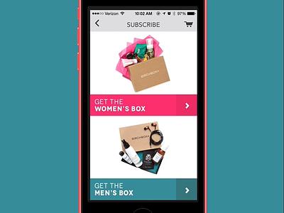 Birchbox Subscription Explanation birchbx interactive box subscriptions