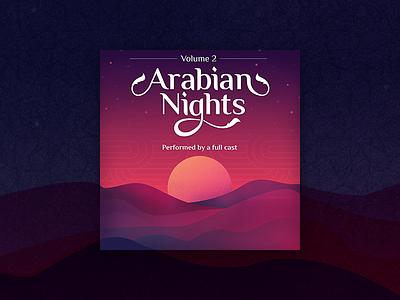 Arabian Nights vol.2 vector waves myth fable audible original audible