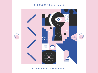 A Space Journey - Cover Artwork