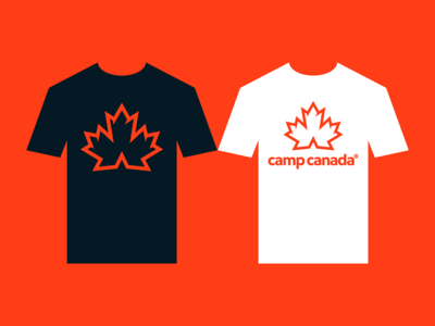 Camp Canada® Branded Tee's