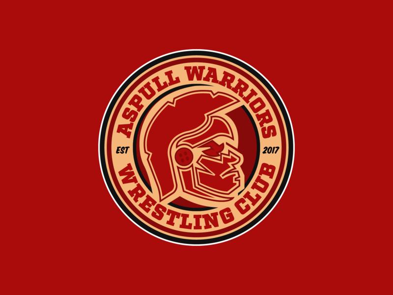 Aspull Warriors Club Badge by Jack Green on Dribbble