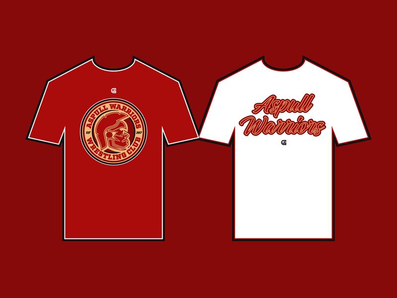 Aspull Warriors Casual T-Shirts