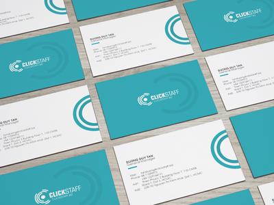 Clickstaff Name Card
