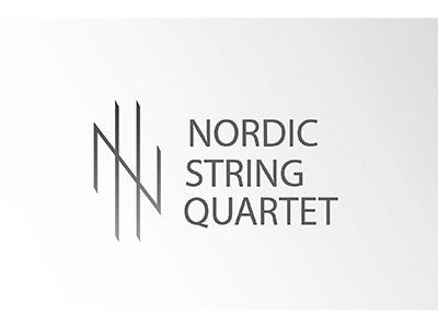 Nordic String Quartet classicmusic violin quartet graphics design logo