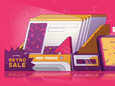 Retro Web Design Trends
