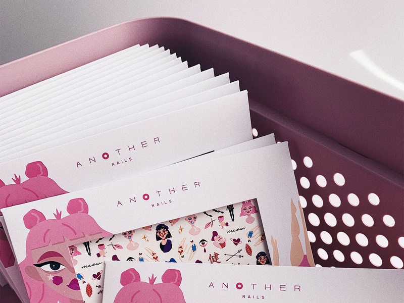 Sisters children cards game animation shot invitation haby invite characters illustration