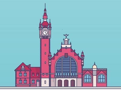 Train Station in Gdańsk - Poland