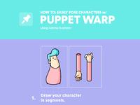 Puppetwarptool wburnttoastcreative x adobe