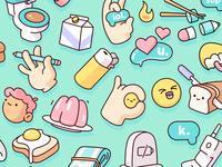 Snapchat - Sticker Pack