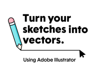How to: Covert Sketches to Vectors