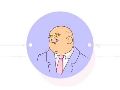 Thaumatrump politics humor trump president animation illusion illustration