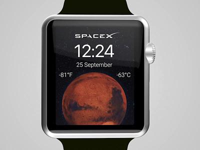 Watch Faces Apple clock watch os watch face watchface watch app app time ios dark ui ui ux watch rotate moon mars map world spacex apple apple watch