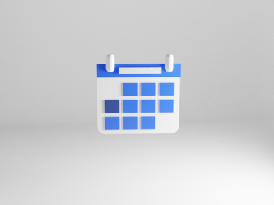 3D Calendar icon ios ios app design date appointment booking appointment medicine medical app medical blue and white 3d calendar design calendar app calendar ui calendar dashboard ui app illustration ux ui