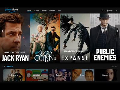 Amazon Prime Video - Concept