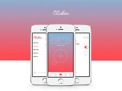 Clicker X - Simple iPhone App