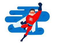Microsoft Revolution Superhero
