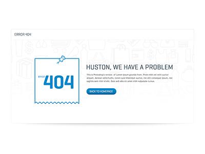 404 for E-commerce 404 ecommmerce shop error simple minimalistic