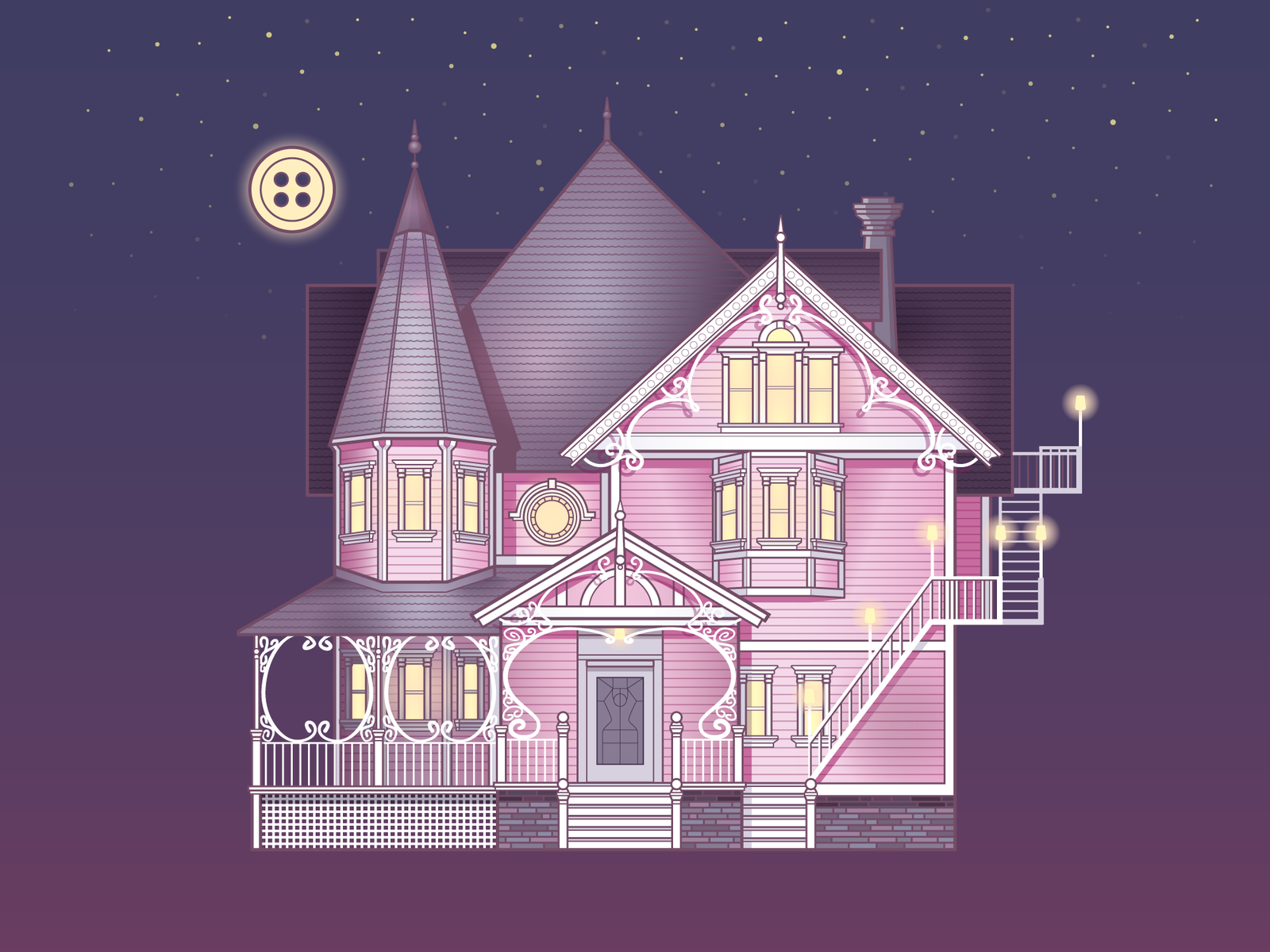 Pink Palace By Audrey Mulhisen On Dribbble