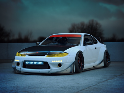 Silvia S15 looking mean