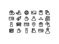 Fashion pictograms