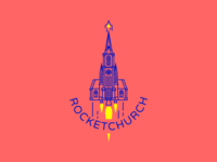 ⛪️ Rocketchurch ⛪️ Daily Logo Challenge 01