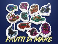 Frutti Di Mare - Stickers