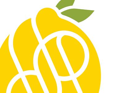 Personal Branding Exploration monogram lemon personal branding stationery vector illustration design logo personal brand branding graphic design
